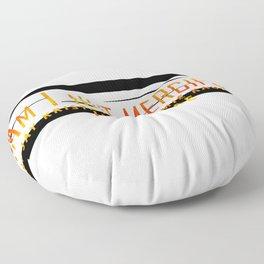 AM I NOT MERCIFUL? Floor Pillow