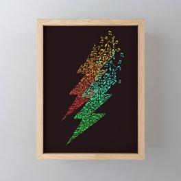 Electro music Framed Mini Art Print