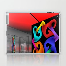 picture of an exhibition Laptop & iPad Skin
