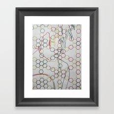 Positive Vibrations Framed Art Print
