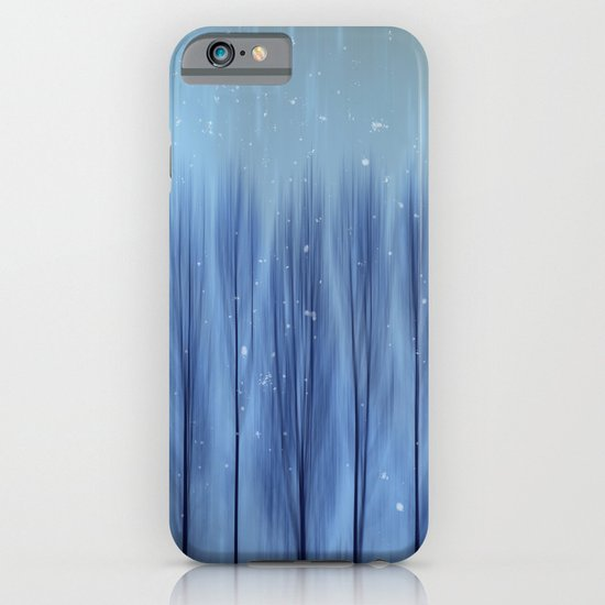 Winter Blues iPhone & iPod Case