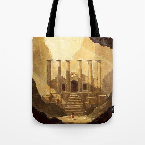 Ancient Ruins Tote Bag