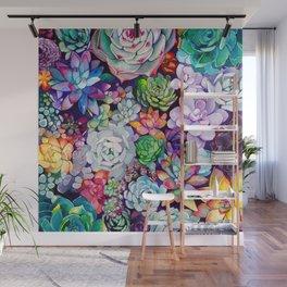 Succulent Garden Wall Mural