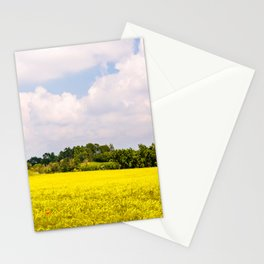 Spring in the fields of Italy Stationery Cards