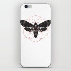 Sacred Death's-head Hawkmoth iPhone & iPod Skin