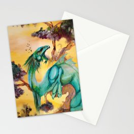 The Green Dragon Stationery Cards
