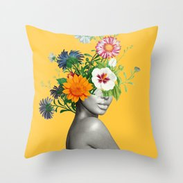 Bloom 5 Throw Pillow