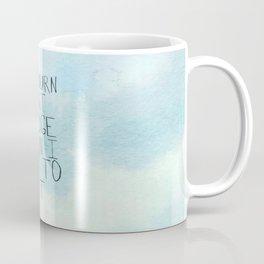 Burn That Bridge Coffee Mug