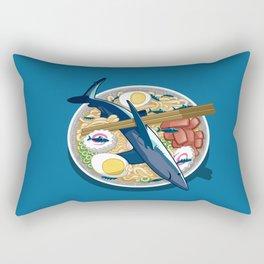 Ramen shark Rectangular Pillow