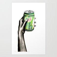 Do the Dew Art Print