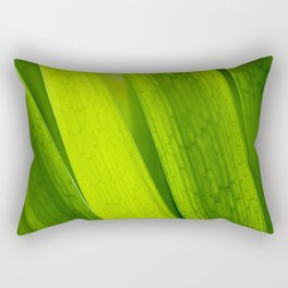 The Details in the Grass Rectangular Pillow