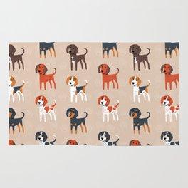 Coonhounds! Rug
