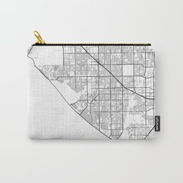 Minimal City Maps - Map Of Huntington Beach, California, United States Carry-All Pouch