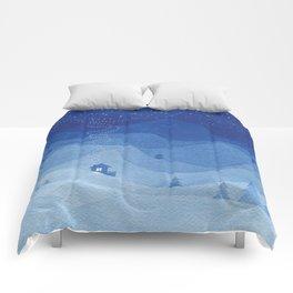Stars factory, blue Comforters