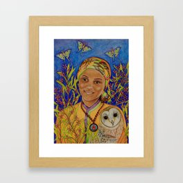 A Heart's Journey, The Fable Continues Framed Art Print