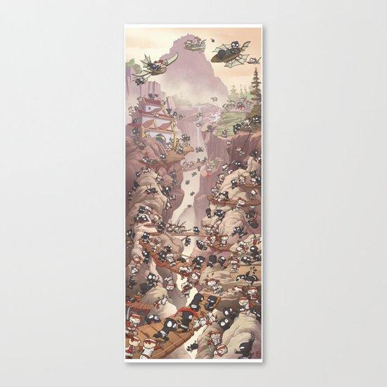 Ninja Scroll Canvas Print