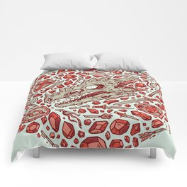 Hoard of the Gem Dragon | Ruby Comforters