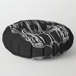 Pinstripe Prime Floor Pillow