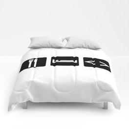 Eat, Sleep, Code Comforters