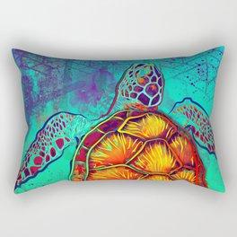 Swim in Eternal Seas Rectangular Pillow