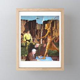 Centuries of War Planning Framed Mini Art Print