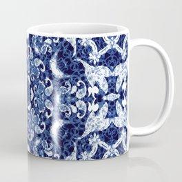 Boho Blue Medallion Coffee Mug