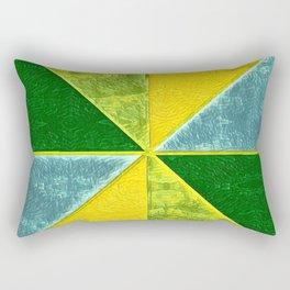 Abs Geometry lemon Rectangular Pillow