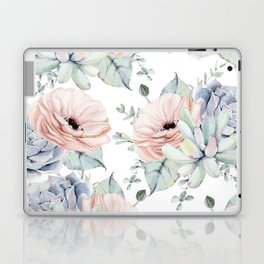 Pretty Succulents by Nature Magick Laptop & iPad Skin