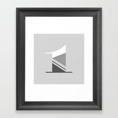 365 Days of Type - 1 Framed Art Print