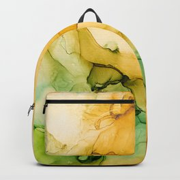Turning Fall  - Abstract Ink Painting Backpack