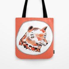 Bearded Fox  Tote Bag