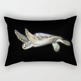 Marine Turtle Rectangular Pillow