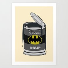 Batsoup Art Print
