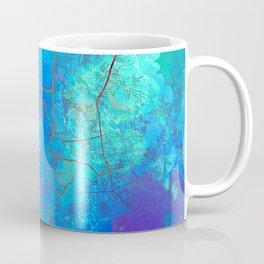 Phuket Thailand Street Map Blue Lagoon Coffee Mug