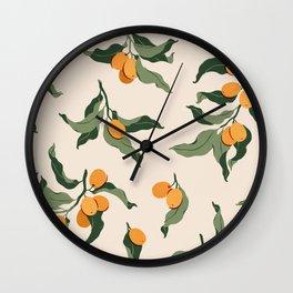 Kumquats Wall Clock