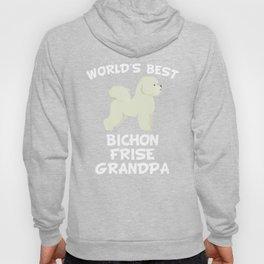 World's Best Bichon Frise Grandpa Hoody