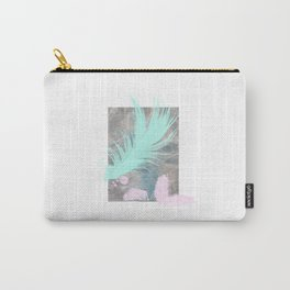Tealfeather on waterclouds Carry-All Pouch