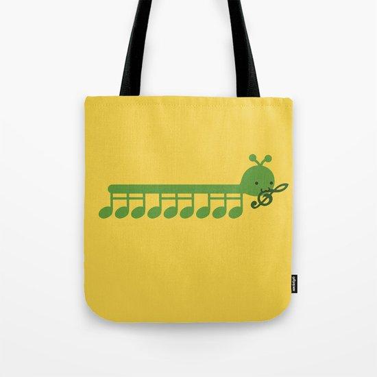 Caterpillar Song Tote Bag