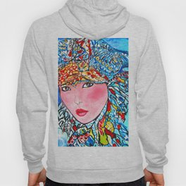 LUNA #society6 #decor #buyart My artwork is featured in MagCloud, Pink Panther Magazine, issue 25 Hoody