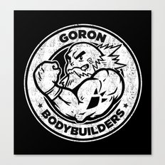 Goron Bodybuilders Canvas Print