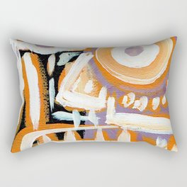 Untitled - Abstract Portrait Rectangular Pillow