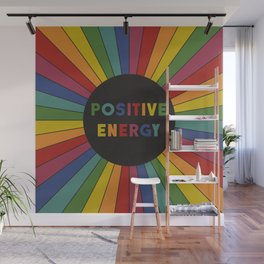 Positive Energy Wall Mural
