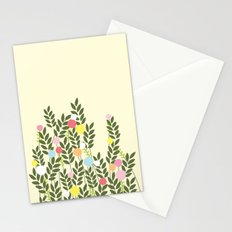 graphic flowers Stationery Cards