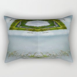 The Duck Pond Rectangular Pillow