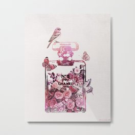 PERFUME WALL ART Metal Print