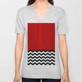 Twin Peaks - The Red Room Unisex V-Neck