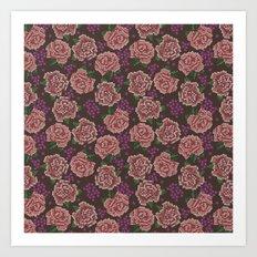 Stitch x Stitch Art Print