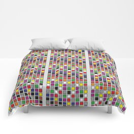 Untitled Five Comforters
