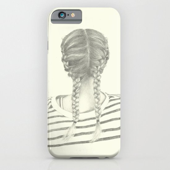 French braids 01 iPhone & iPod Case