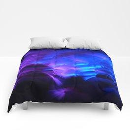 BLUE GLOWSTICKS Comforters